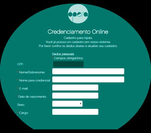 Sistema de credenciamento